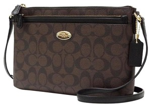 Coach 52657 East West Pop Clutch Cross Body Bag