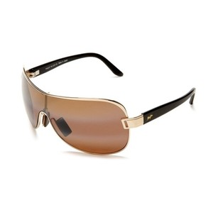 Maui Jim Maui Jim Maka Gold/Bronze Polarized Sunglasses