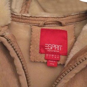Esprit Beige Leather Jacket