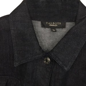 Talbots Denim dark blue Womens Jean Jacket