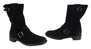 Paul Green Distressed Black Boots