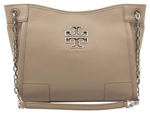 Tory Burch Britten Tote in French Gray