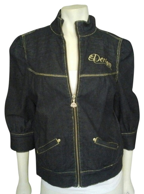 Preload https://item3.tradesy.com/images/house-of-dereon-miss-tina-blue-womens-jeans-jacket-1980362-0-0.jpg?width=400&height=650