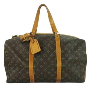 Louis Vuitton Keepall Duffle Monogram Travel Bag