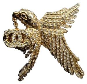 Chanel 01P Hummingbird Pin 209694