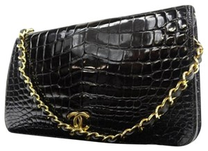 Chanel Classic Flap Ghw Woc Wallet On Chain Shoulder Bag