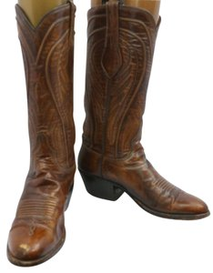 Lucchese Brown Leather Boots