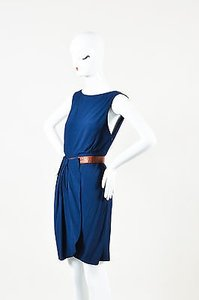 Rachel Comey Blue Pleated Dress