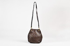 Bottega Veneta Metallic Intrecciato Leather Ghw Bucket Shoulder Bag