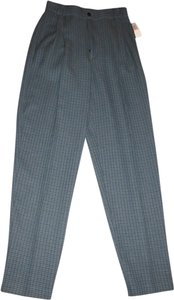 Immagio Trouser Pants green/blue/black plaid