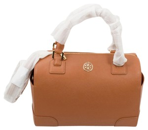 Tory Burch Robinson Satchel in Luggage