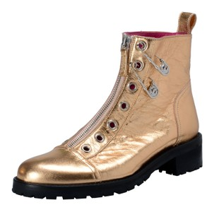 Versace Gold Boots