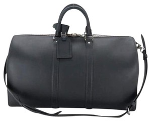 Louis Vuitton Limited Edition Black Travel Bag