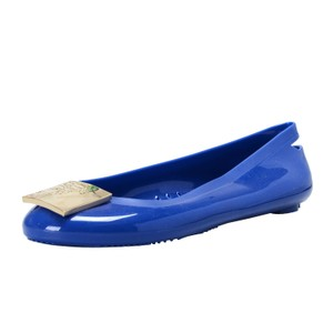 Versace Collection Blue Flats