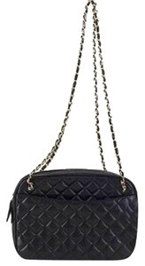 Chanel Ghw Camera Reporter Crossbody Shoulder Bag