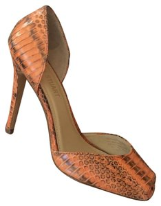 Colin Stuart Burnt Orange Pumps