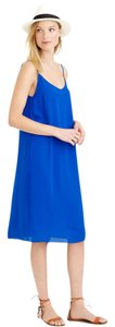 J.Crew short dress Royal Blue Blue Xxs on Tradesy
