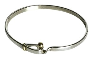 Tiffany & Co. Tiffany & Co 18K Yellow Gold And Sterling Silver Bracelet