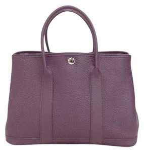 Hermès Hermes Garden Party Tpm Tote in Purple