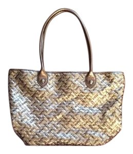 Elliott Lucca Tote in Bronze/Gold Metallic
