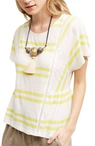 Anthropologie Anthroplogies Striped Shirt Tunic