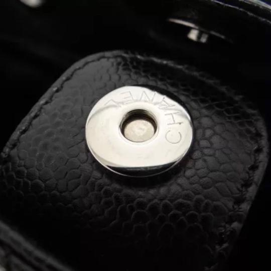 Chanel Caviar Quilted Tote in Black