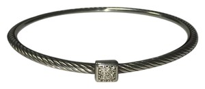 David Yurman Pave Square Bangle