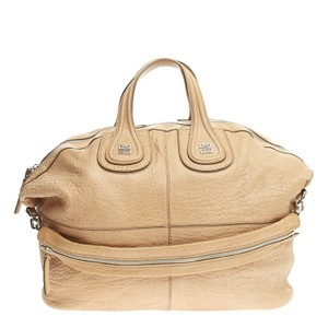 Givenchy Leather Satchel in Peach