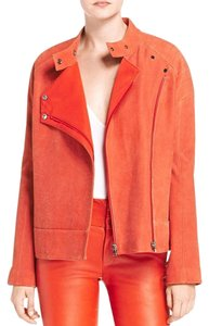 J Brand Acket Motorcycle Acket Acket Red Leather Jacket