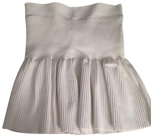 BCBGMAXAZRIA Skirt OFF WHITE