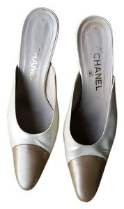 Chanel Made In Italy off white and beige Mules