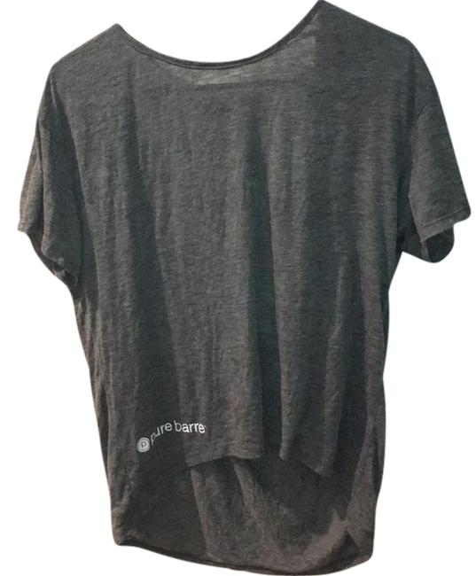 Item - Ash Heather Pony with Strap Activewear Top Size 8 (M, 29, 30)