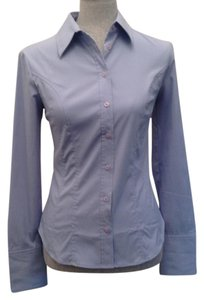 Express Button Down Shirt Light Blue