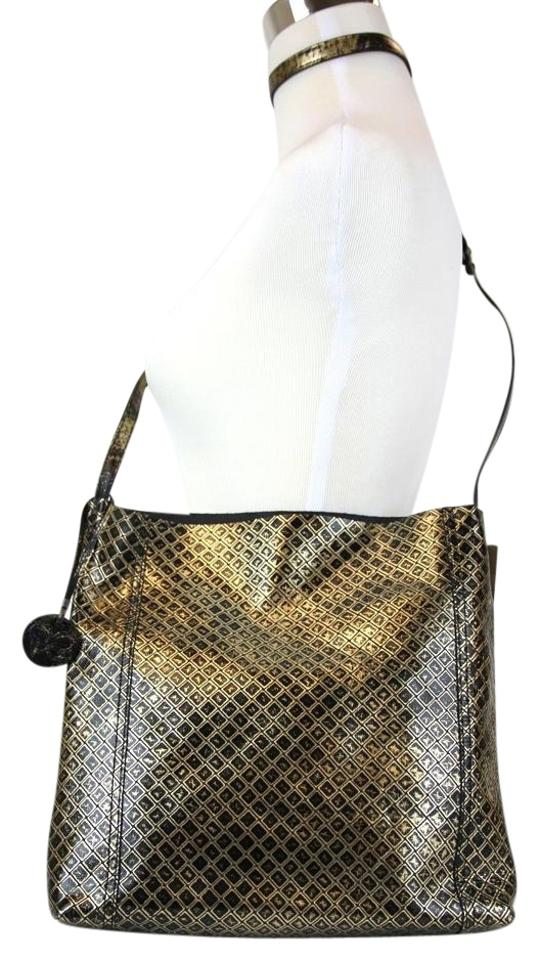 f6186eadce36 Bottega Veneta New Intrecciomirage Messenger Large 298786 8414 Gold ...