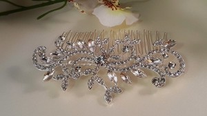 Gorgeous Sparkly Bridal Austrian Crystal Hair Comb