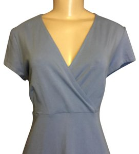 Eileen Fisher short dress Like Blue on Tradesy