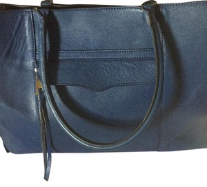 Rebecca Minkoff Tote in Navy blue With Black