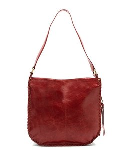 Hobo International Bianka Russet Leather Shoulder Bag