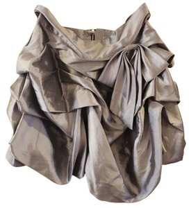 Romeo & Juliet Couture Mini Skirt Steel gray