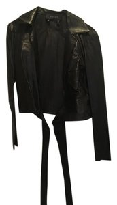 Gucci Top Black leather