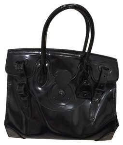 Ralph Lauren Patent Leather Shoulder Bag