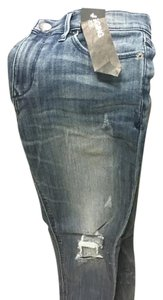 Express Distressed Jeggings