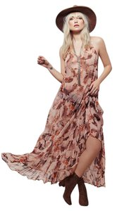 Maxi Dress by Free People Golden Coast