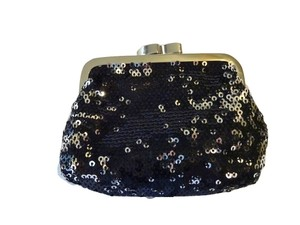 Victoria's Secret Black & Silver Sequins Limited Edition Framed Coin Purse
