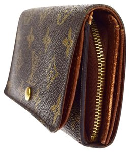 Louis Vuitton LOUIS VUITTON Bifold Wallet Purse Monogram Brown Spain M61730 Mens