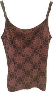 Pacific Sunwear Top Black and Maroon