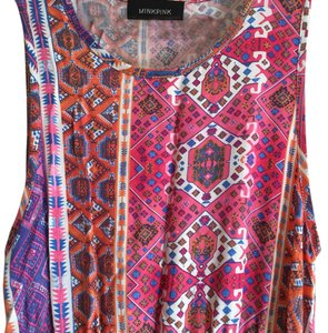 Pink, orange, purple, blue Maxi Dress by MINKPINK