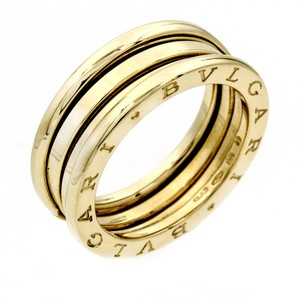 BVLGARI Bulgari B.Zero 1 2-row Band in Yellow Gold, Size 8.5 with Box