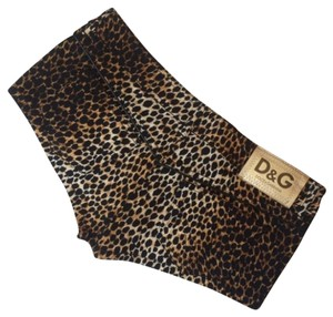 Dolce&Gabbana Mini/Short Shorts Black Brown