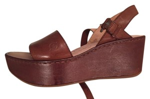 Børn Wedge Retro Tan Sandals